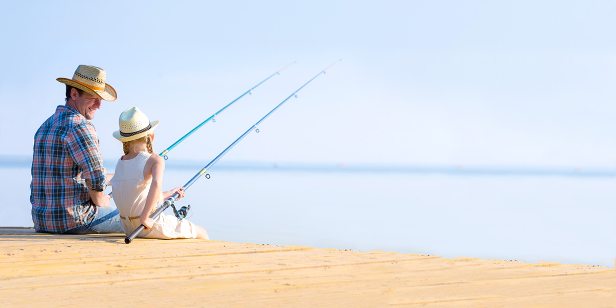 father daughter fishing seaside daytona beach counseling center
